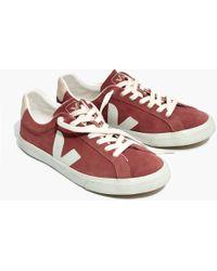 Madewell - X Vejatm Esplar Low Sneakers In Suede - Lyst