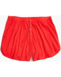 Madewell - Siesta Pyjama Shorts - Lyst