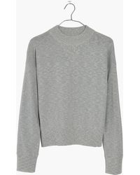 Madewell - Relaxed Mockneck Jumper - Lyst