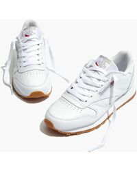 Madewell - Reebok Club C 95 Trainers In White Leather - Lyst