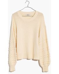 Madewell - Bobble Pullover Sweater - Lyst
