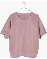 Madewell - Pre-order X As Evertm Short-sleeve Sweatshirt - Lyst