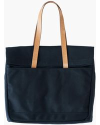 MW Makr Canvas And Leather Fold Weekender Bag - Black