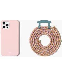 MW The Caep Bubblegum + Rainbow Case - Pink