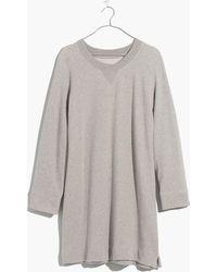Madewell - Sweatshirt Dress - Lyst