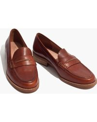 Madewell - Pre-order The Elinor Loafer - Lyst