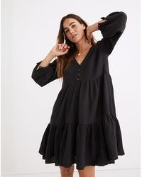 MW Lightspun Colette Mini Dress - Black