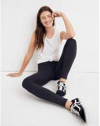 Madewell Splits59™ Edie High-waist Tights - Black
