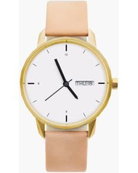 Madewell - Tinkertm 38mm Gold-toned Watch - Lyst