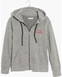 Madewell - Messenger Hoodie Sweatshirt - Lyst