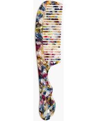 Madewell Rainbow Tortoise Hair Comb - Multicolour