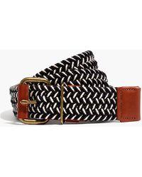 MW Woven Webbing Belt - Black