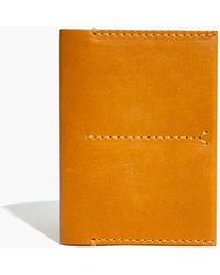 Madewell - Leather Passport Case In Cider - Lyst