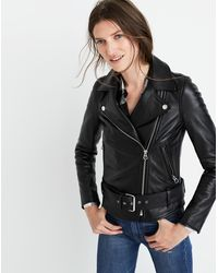 MW Ultimate Leather Motorcycle Jacket - Black