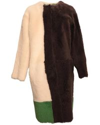Karl Donoghue Reversible Lambskin Coat - Multicolor