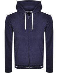 Lacoste Full Zip Hoodie - Blue