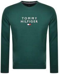 Tommy Hilfiger Crew Neck Sweatshirt - Green