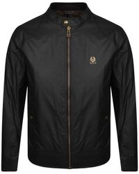 Belstaff Kelland Waxed Cotton Jacket - Black