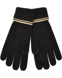 Fred Perry Mens Cable Touchscreen Gloves