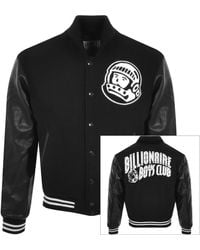 BBCICECREAM Astro Varsity Jacket - Black