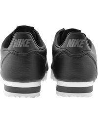 the best attitude 05285 da808 Nike - Classic Cortez Trainers Black - Lyst