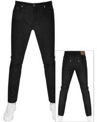 Versace Slim Fit Jeans - Black