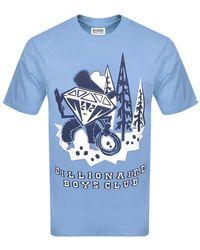 BBCICECREAM Logo T Shirt - Blue