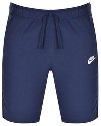 Nike Club Logo Shorts - Blue