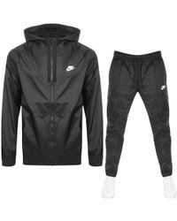 Nike - Tracksuit Black - Lyst