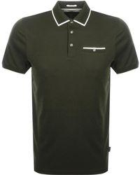 Ted Baker - Jelly Polo T Shirt Khaki - Lyst