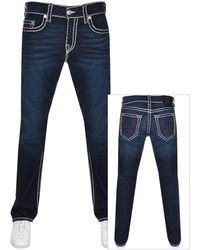 True Religion Ricky Super T Jeans - Blue