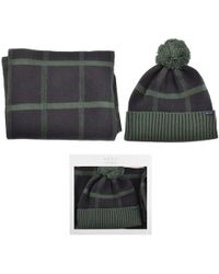 Jack Wills - Wincanto Check Hat And Scarf Set - Lyst