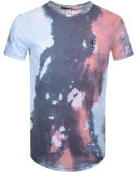 Religion - Storm T Shirt Blue - Lyst