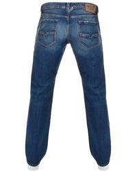 DIESEL - Larkee 008xr Jeans Blue - Lyst