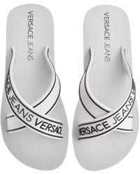 8242f446ab5a Lyst - Men s Versace Jeans Flip-flops On Sale