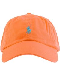 Ralph Lauren Classic Baseball Cap - Orange