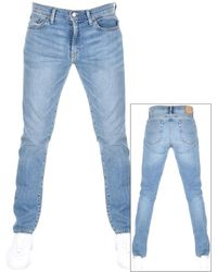 Ralph Lauren Sullivan Slim Stretch Jeans - Blue