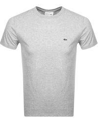 Lacoste Crew Neck T Shirt - Gray