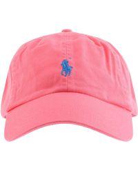 Ralph Lauren Classic Baseball Cap - Pink