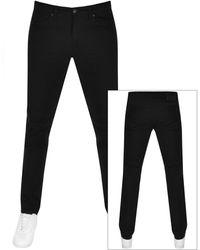 HUGO 708 Slim Fit Jeans - Black