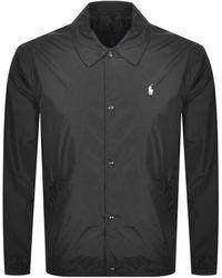 Ralph Lauren Polo Coaches Jacket - Black
