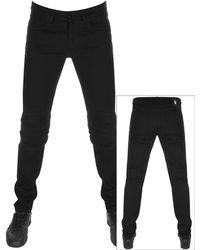 Versus - Skinny Jeans Black - Lyst