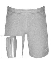 adidas Originals Three Stripe Shorts - Grey
