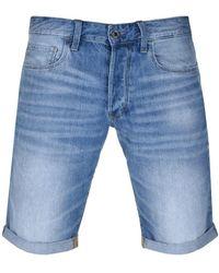 G-Star RAW Raw 3301 Denim Shorts - Blue