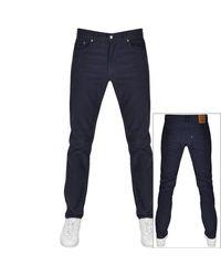 Levi's 511 Corduroy Slim Fit Jeans - Blue