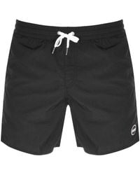 Colmar Logo Swim Shorts - Black