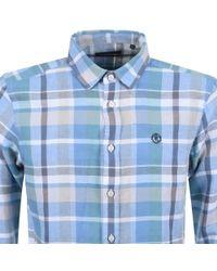 Henri Lloyd - Lightford Check Shirt Blue - Lyst