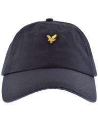 6e487a311d93 Lyle & Scott Baseball Cap Navy - Blue
