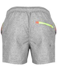 Superdry - Beach Volley Swim Shorts Grey - Lyst