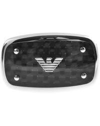 Armani - Emporio Egs1599040 Logo Cufflinks Silver - Lyst